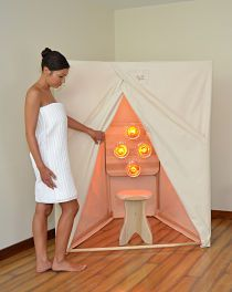 IR Sauna Frame With Cloth