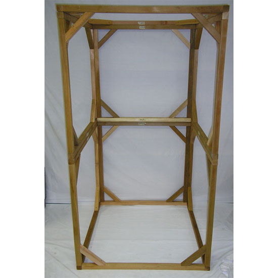 Wood Frame For Infrared Sauna